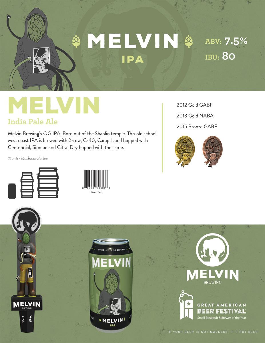 Melvin IPA Sell Sheet